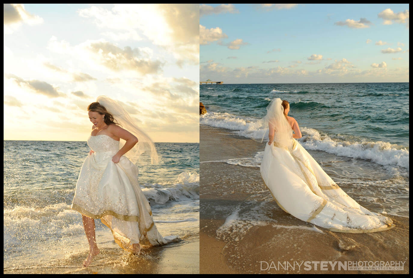 trash the dress wedding pictures